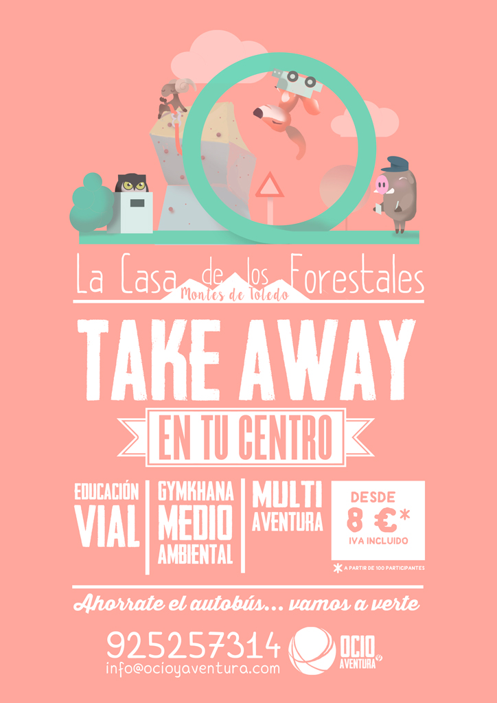 Programas Escolares Take Away Ocioyaventura