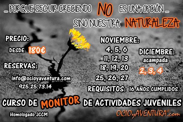 CURSO DE MONITORES TOLEDO OCTUBRE 2016